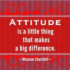 Attitude - Churchill Quote